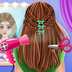 Braided Hairstyle Salon Fashion Stylist For PC / Windows 7/8/10 / Mac – Free Download