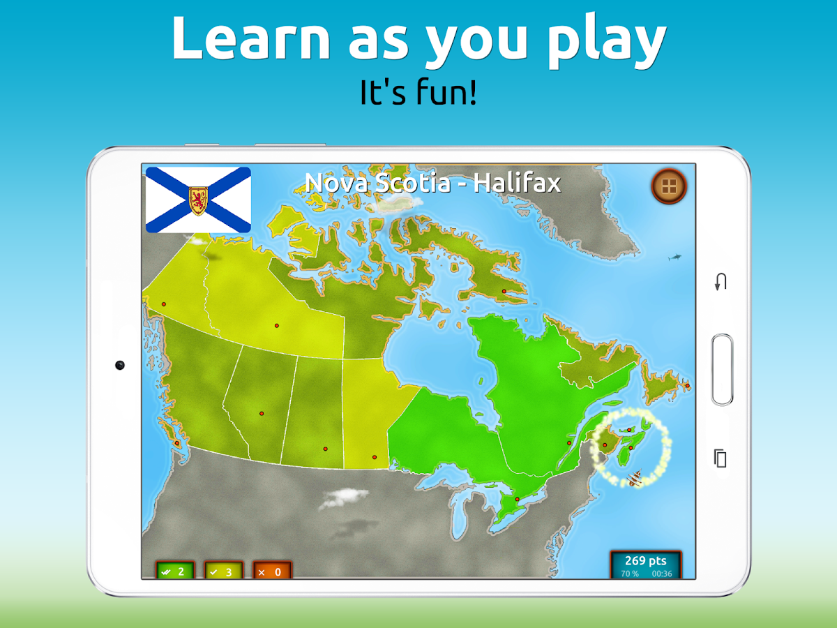 GeoExpert - Canada Geography Screenshot 6