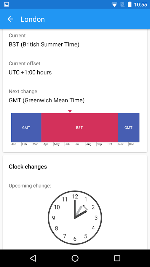 World Clock by timeanddate.com Screenshot 5