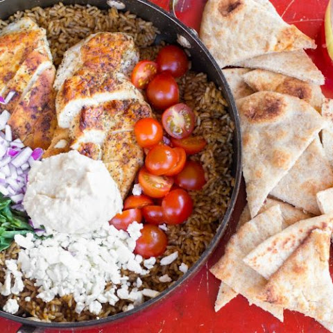 One Pot Greek Chicken and Rice