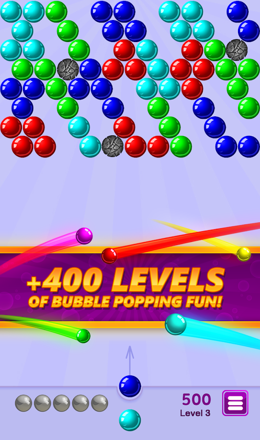 Bubble Shooter Arcade Screenshot 1