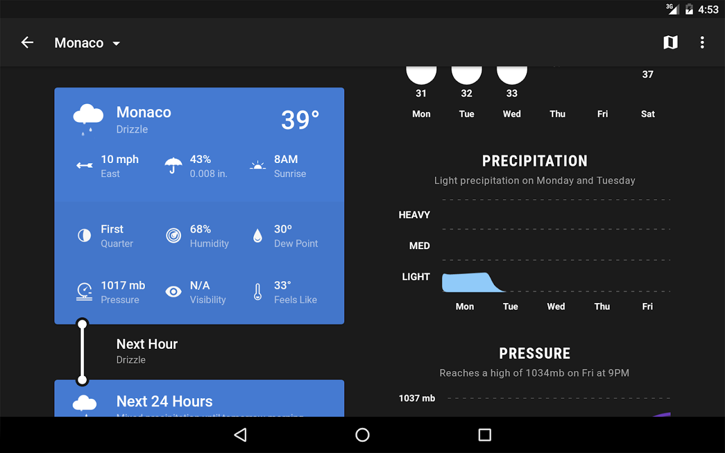 Weather Timeline - Forecast Screenshot 13