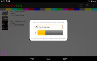 Screenshot of EASY screen recorder NO ROOT