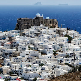 Astypalea - Greece by Theodoros Tympanidis - Buildings & Architecture Homes ( astuypalea, greece, panoramic, aegean, island )