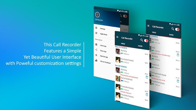 Automatic Call Recorder ACR APK screenshot thumbnail 2