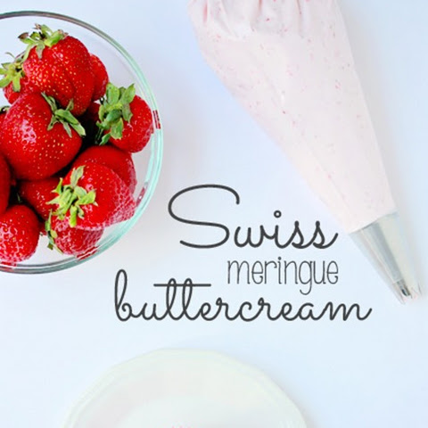 Strawberry Swiss Meringue Buttercream