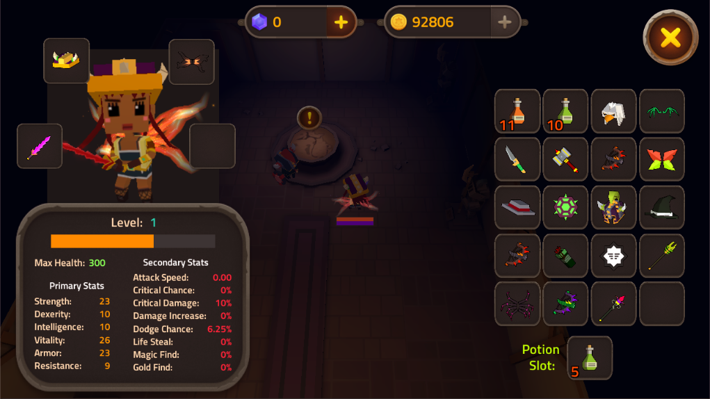 King of Raids: Magic Dungeons Screenshot 3