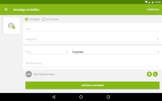 EBay Kleinanzeigen For Germany APK screenshot thumbnail 14