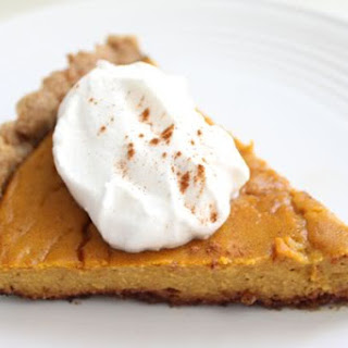 Ultimate Walnut Pie Crust with Pumpkin Filling