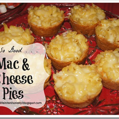 Oh So Good Mini Mac & Cheese Pies