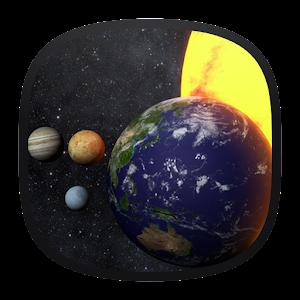 Solar System 3D Free Live Wallpaper For PC (Windows & MAC)