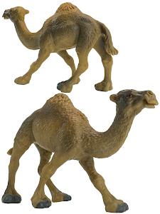 """Игрушка-фигурка серии """"Город Игр"""", одногорбый верблюжонок L, коричневый"""