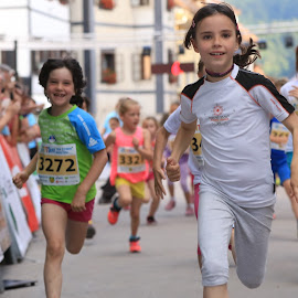 Running with a smile by Igor Martinšek - Sports & Fitness Running