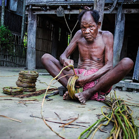 by Saumalya Ghosh - People Portraits of Men