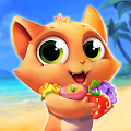 Tropicats: Build, Decorate & Play Match 3 Paradise APK for Bluestacks