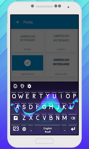 android Keyboard for Huawei P8 Screenshot 2