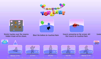 Screenshot of Games For Toddlers