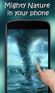 Tornado HD Live Wallpaper - screenshot