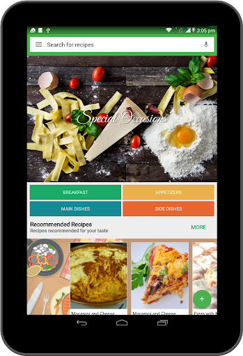 Food Book Recipes: Premium - screenshot