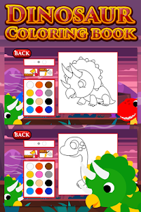 Dinosaur Coloring Book - screenshot