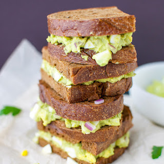 Simply Delicious Avocado-Egg Salad Sandwich