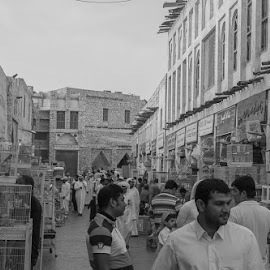 by Manoj Jain - City,  Street & Park  Markets & Shops ( manoj photography, market, street, doha, morning,  )