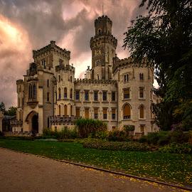 Hluboka Castle by Stanley P. - Buildings & Architecture Public & Historical ( architecture )