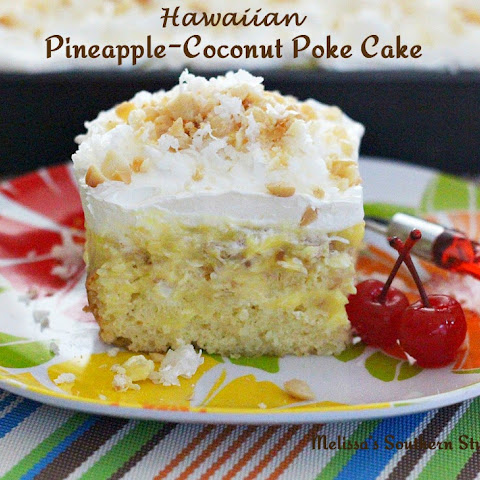 Hawaiian Pineapple-Coconut Poke Cake
