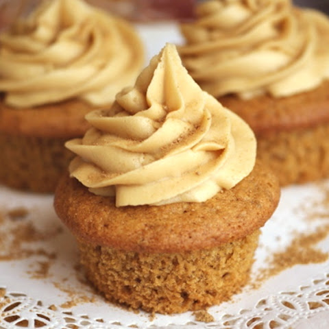 Vegan Maple Cupcakes with Pure Maple Buttercream