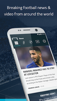 Goal.com APK screenshot thumbnail 1