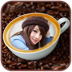 Coffee Cup Photo Frame Free Icon