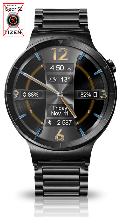 Avionic Depth HD Watch Face Screenshot 6