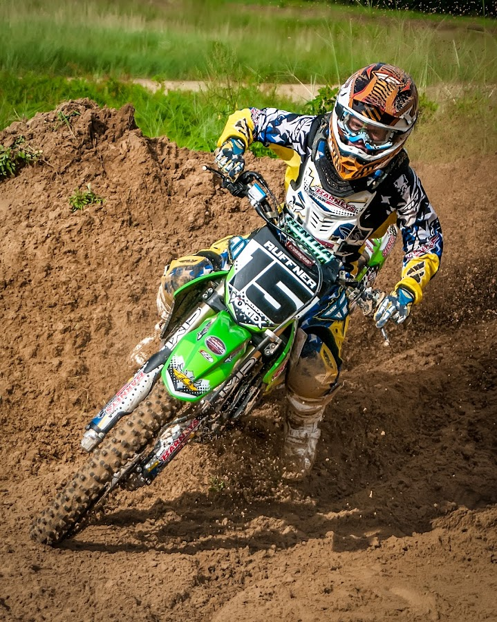 Motocross  by Lynn Wiezycki - Sports & Fitness Other Sports ( motocyle, motocross, dade city motocross )