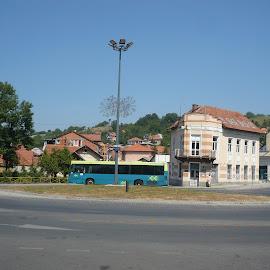 by Drago Ilisinovic - City,  Street & Park  Vistas