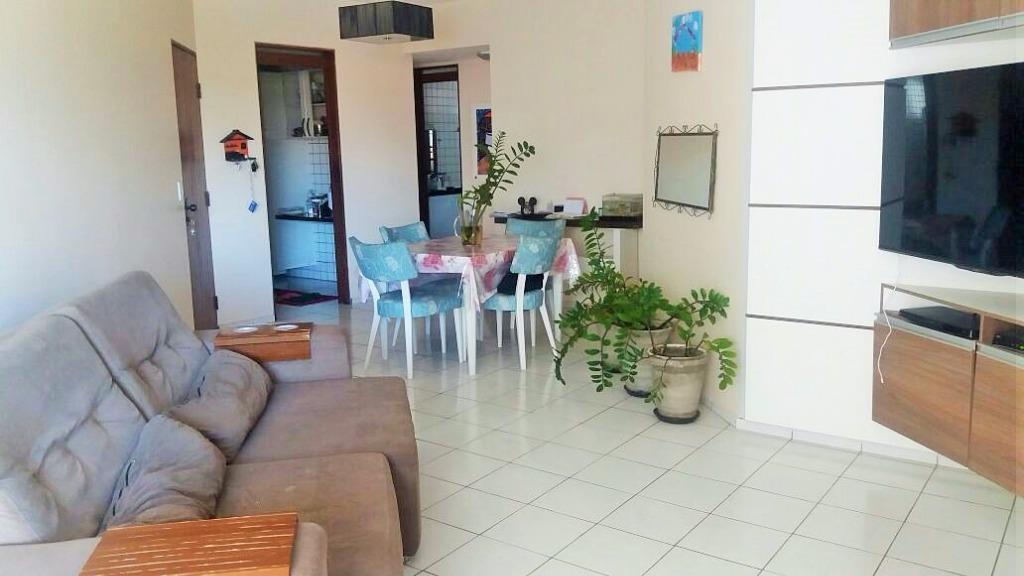 Apartamento residencial à venda, Bessa, João Pessoa - AP5046.