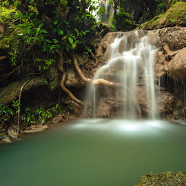 Kandung Waterfall by Dida Melana - Landscapes Waterscapes