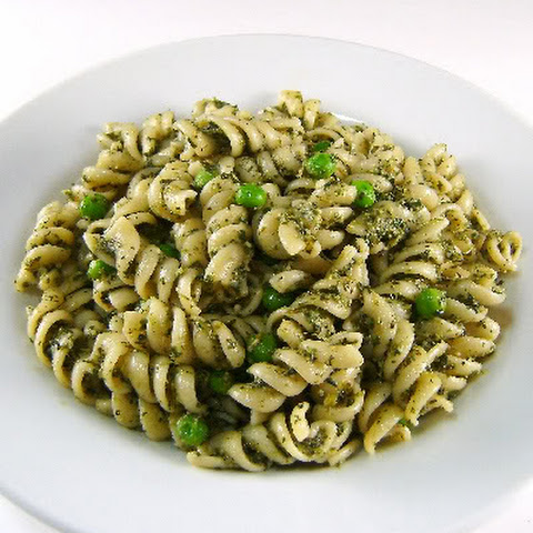 Broccoli Pesto and Pasta with Pesto and Peas