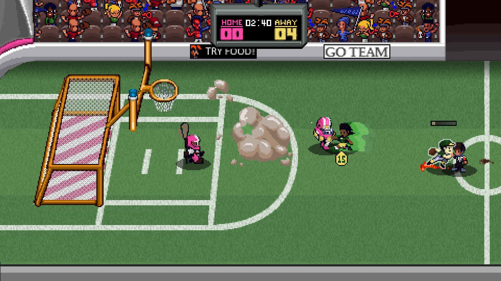 Super Slam Dunk Touchdown Screenshot 4