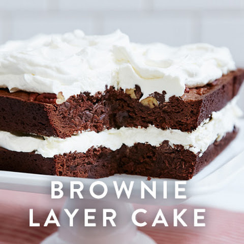 Brownie Layer Cake