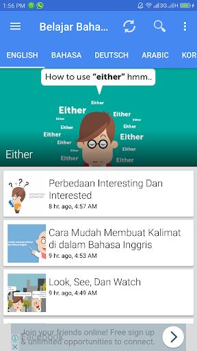 Aplikasi Belajar Bahasa screenshot 6