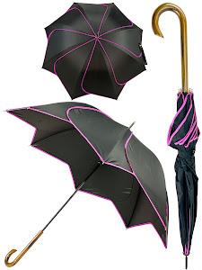 """Зонт трость """"Цветок"""", розовый"""
