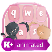 App Kitty Animated Keyboard 1.0.3 APK for iPhone