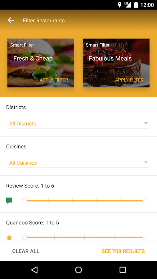 Quandoo - Restaurant Bookings Screenshot 2