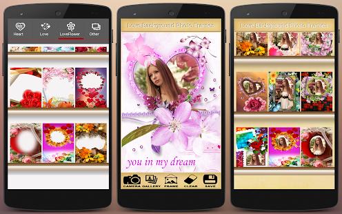 App Love Background Photo Frames apk for kindle fire