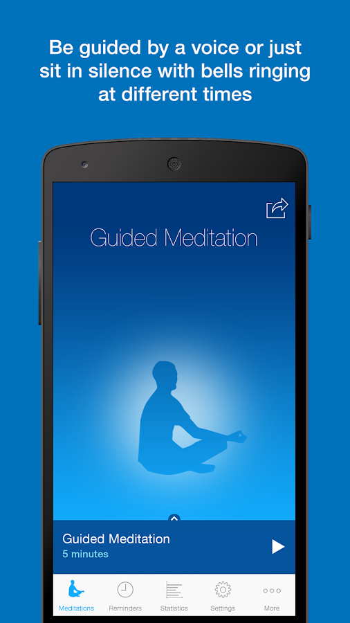 The Mindfulness App Screenshot 1