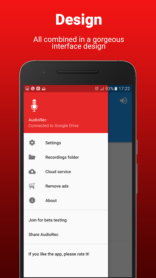AudioRec Pro - Voice Recorder Screenshot 7