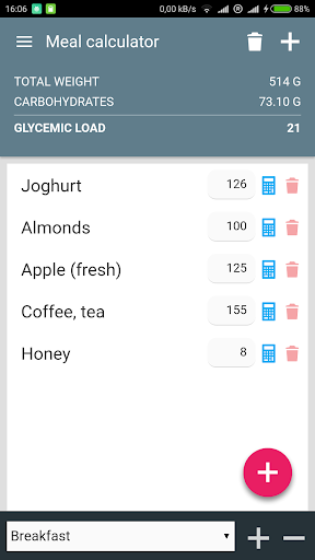 Glycemic Index & Load Diet Aid For PC
