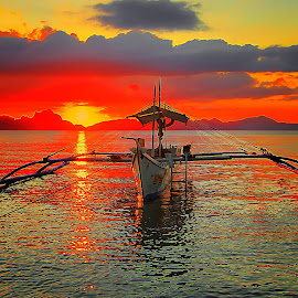 palawan by Abu  Janjalani Abdullah - Transportation Boats ( boats, transportation )