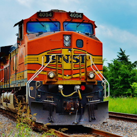 BNSF 4054  7997 by Jim Suter - Transportation Trains (  )