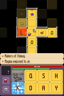 Crossword Dungeon - screenshot
